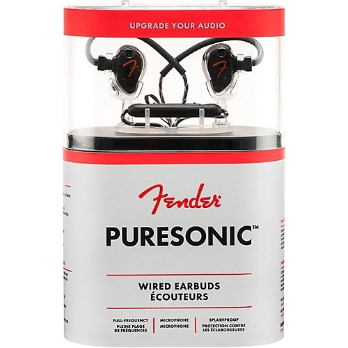 FENDER PURESONIC WIRED EARBUDS OLYMPIC PEARL