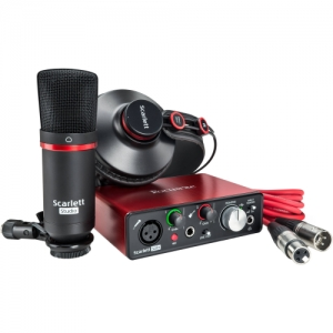 FOCUSRITE SCARLETT SOLO STUDIO NEW